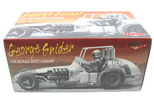 GMP George Snider #1 Dirt Champ Die Cast 1:18 Scale Limited Ed #G1800506+Orig Bx