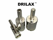 3 Pcs Diamond Drill Bit Set 1/2 3/4 1 inch Holesaw Set Lot Glass Granite Tiles