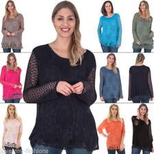 Camisas y tops de mujer de color principal azul de viscosa/rayón