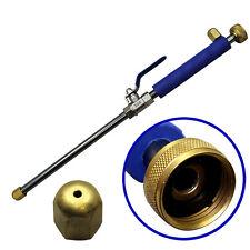 Pressure Power Washer Garden Hose Water Spray Gun Nozzle Wand Attachment High US