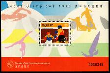 Macau - Mint Souvenir Sheet Scott #833 (Olympics: Boxing)