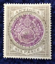 Antigua Edward VII 1903 arms of colony Wmk Crown CC 6d purple & drab SG36 V F U.