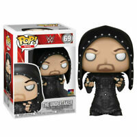 "WWE UNDERTAKER HOODED 3.75"" POP VINYL FIGURE FUNKO BRAND NEW 69 UK SELLER"