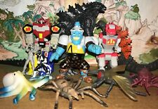 Tokusatsu Kaiju miniatures figures lot, Power Rangers/Zyuranger, Godzilla 2019