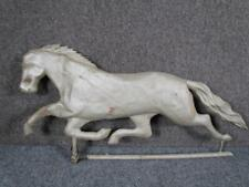 Antique 1800s American Figural Trotting Horse Weathervane