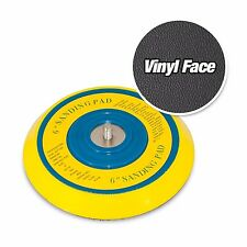 "6"" DA Vinyl PSA Face Sanding Pad for Dual Action Sanders (use sticky back discs)"