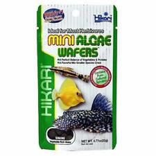 Hikari Mini Algae Wafers 22g Tropical Catfish & Plecos Sinking Wafer Disc Food