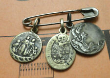3 petite medaille religieuse argent