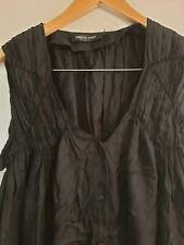 Empire rose perth designer black viscose dress size S 10 to 12