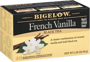 Bigelow Kosher French Vanilla Tea  20 Tea Bags 36g NO GMO