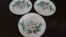 Royal China USA Dogwood Pattern Bread Plates x 3
