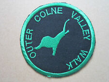 Outer Colne Valley Walk Walking Hiking Woven Cloth Patch Badge