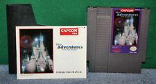 Vintage Nintendo NES Video Game Disney's Magic Kingdom  With Instruction Booklet