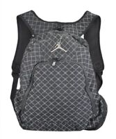 NIKE JORDAN JUMPMAN BACKPACK BLACK SILVER LAPTOP STORAGE 9A1115-023 NWT