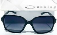 NEW* Oakley PROXY BLACK w Grey lens Women's Sunglass 9312-03
