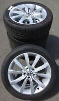 4 VW Sommerräder VW Golf VI VII 225/45 R17 91W VW Dijon Design 5G0601025CH TOP