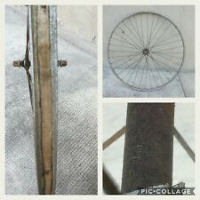 "ruota anteriore corsa road vintage eroica  front wheel 28"" anno year 40 50 SIAMT"