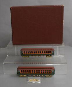 WP Car Corp. BMT 1200 BRASS HO Scale Subway Car Set (Painted) EX/Box
