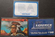 TK mint/inutilizzato Set Da 3 Chiamata card USA Phantom of the Eagle+Bell