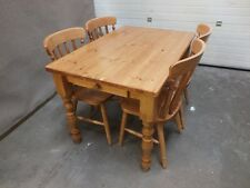 4'x3' FARMHOUSE DINING KITCHEN TABLE HAND MADE SOLID PINE BESPOKE SIZES
