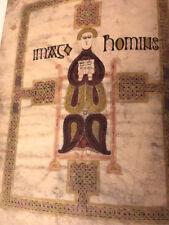 FOUR GOSPELS (GOSPELS OF ECHTERNACH OR SAINT WILLIBRORD) 690AD