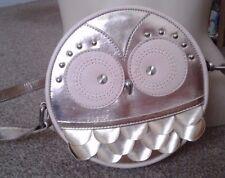 NEXT GORGEOUS  GOLD OWL CROSSBODY MESSENGER SHOULDER BAG