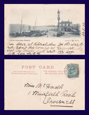 UK SCOTLAND QUAY GREENOCK MAY 30 1903 TO MISS McDONALD, 1 MUIRFIELD RD INVERNESS