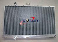 For Mitsubishi Lancer EVO 4/5/6 EVO IV V VI 1996-2001 Aluminum Alloy Radiator MT