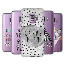 OFFICIAL VASARE NAR TYPOGRAPHY SOFT GEL CASE FOR SAMSUNG PHONES 1