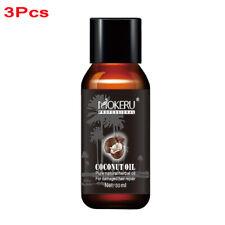 MOKERU 3 Organic Repairing Damaged Dry Hair Smoothing Anti Frizz Virgin Pure Oil