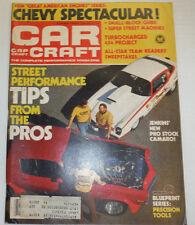 Car Craft Magazine New Pro Stock Camaro May 1979 122314R