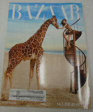 Harper's Bazaar Magazine Sky-High Style April 2010 071814R