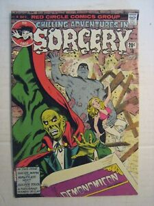 "1973 Red Circle Comics Group ""Chilling Adventures In Sorcery""; No. 4; Dec. Book"