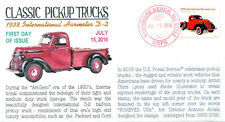 Coverscape computer generated Pickup Trucks 2016 forever stamps U/O set of 4 fdc