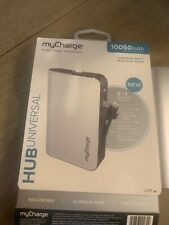 myCharge Portable Charger HUB 4-IN-1 UNIVERSAL Built In Lightning, USB-C & A NEW
