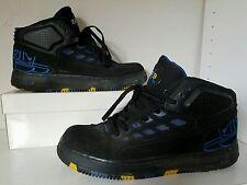 MEN BASKET BALL SHOES NIKE AIR JORDAN '96 '97'98, BLACK/BLUE/YELLOW SZ 9.5