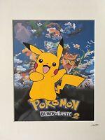 Pokemon - Pikachu - Hand Drawn & Hand Painted Cel