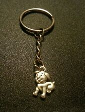 Cute Puppy Dog K9 Animal Pet Key Chain Charm Pendant Gift