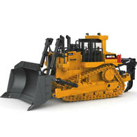 Crawler Bulldozer Model Alloy Diecast 1:50 Tracked Engineering Kids Toys Gifts