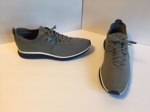 Cole Haan Mens GrandMotion Knit Sneakers Size 8.5 D Gray C26333