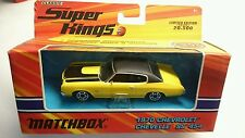 MATCHBOX SUPERKINGS K-202 1970 CHEVROLET CHEVELLE SS 454 DIE CAST MINT!!