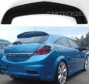 Fits Vauxhall Astra MK5 H VXR 3dr Tailgate Roof Spoiler, tuning