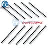 5/10/50/100PCS 40Pin 2.54mm Single Row Straight Male Pin Header Strip PBC