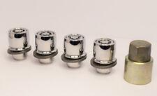 Set of 4 x M12 x 1.5, Mitsubishi/Toyota Alloy Wheel Lockers