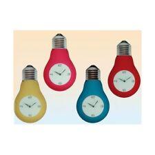 Orologio da parete vetro lampadina cm. 40x23