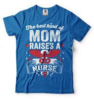 Nurses Mom T-shirt Gift For Mom Nurse T-shirt Gift For Mother Nurse's Mom Gift