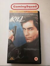 Licence to Kill 007 VHS Video Retro, Supplied by Gaming Squad