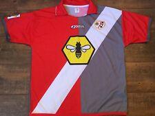 2001 2002 Rayo Vallecano Lejos Camiseta De Fútbol Adultos XL Camiseta Maglia Trikot