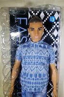 Barbie 2016 Ken Fashionistas #13 Distressed Denim Doll New Mattel