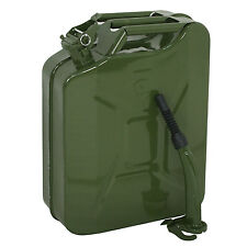 5 Gallon Jerry Can Fuel Steel Tank Green Military Nato 20L Gasoline Storage